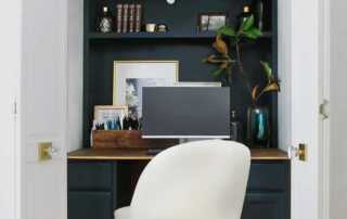 Tips for Turning Closet into Home Office