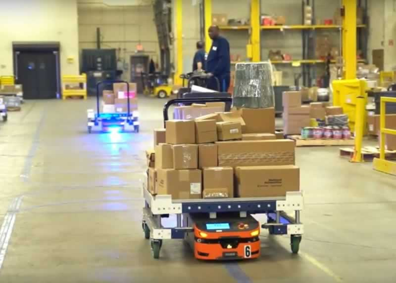 Top Benefits of Automated Guided Vehicles