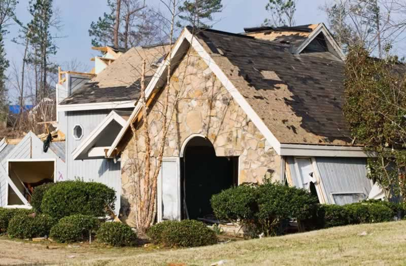 What to Do If a Storm has Damaged your Home - wind damage
