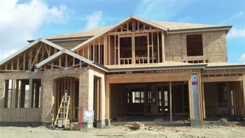 3 Biggest Mistakes People Make When Building a Home - half finished home