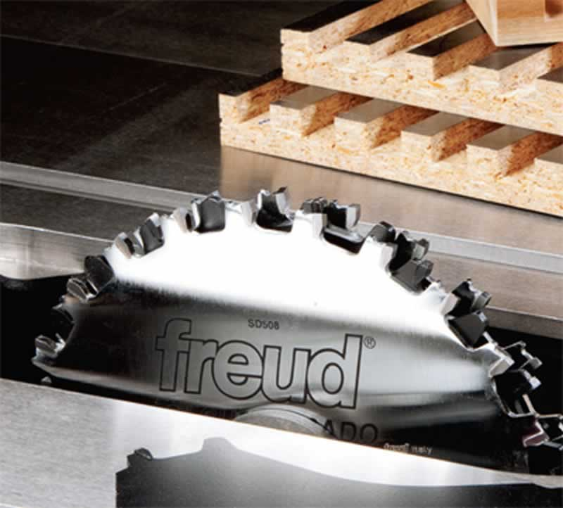 5 Best Table Saw Blades for Woodworkers - stacked dado blades