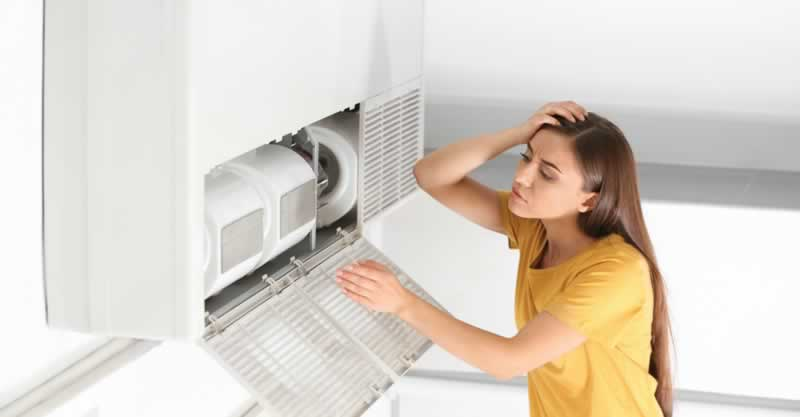 5 Common Signs You Need an AC Repair - broken AC