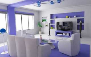 7 things to consider before hiring a house painting company - painted living room