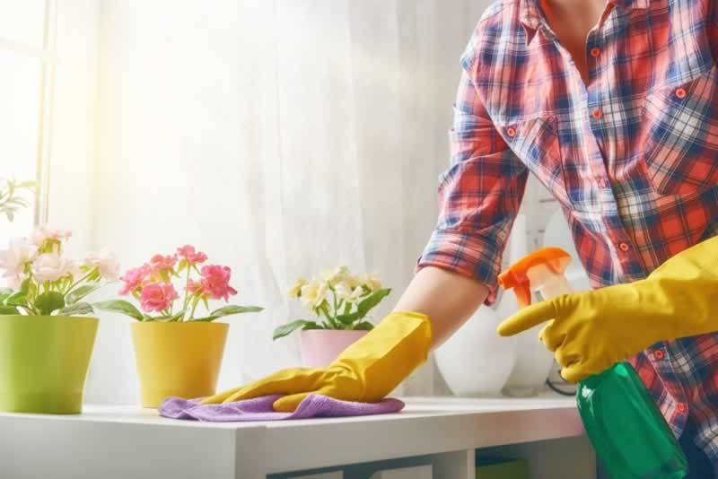 8 Summer Cleaning Tips For A Sparkling Home - cleaning
