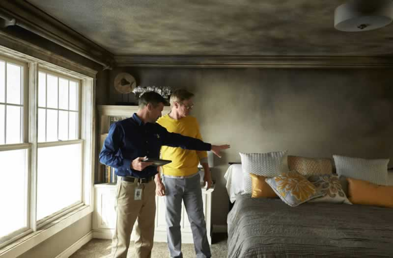 Are You Allowed to Do DIY Smoke Damage Restoration - inspection