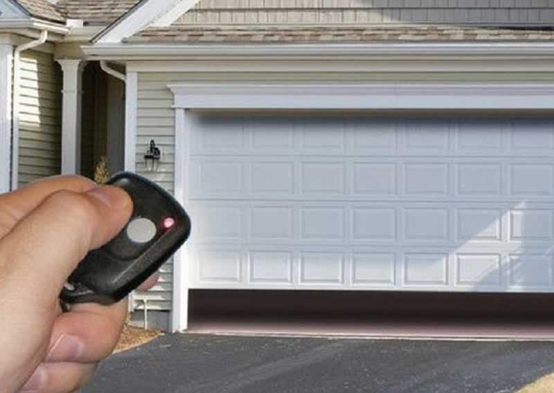 DIY Garage Door Installation Guide - remote