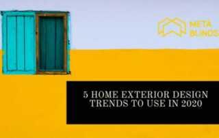 Home Exterior Design Trends