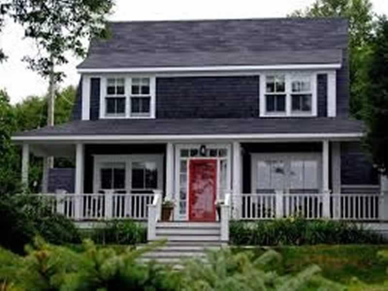 Home Exterior Design Trends - dark colors