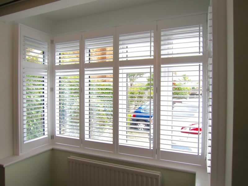 Home Exterior Design Trends - plantation shutters