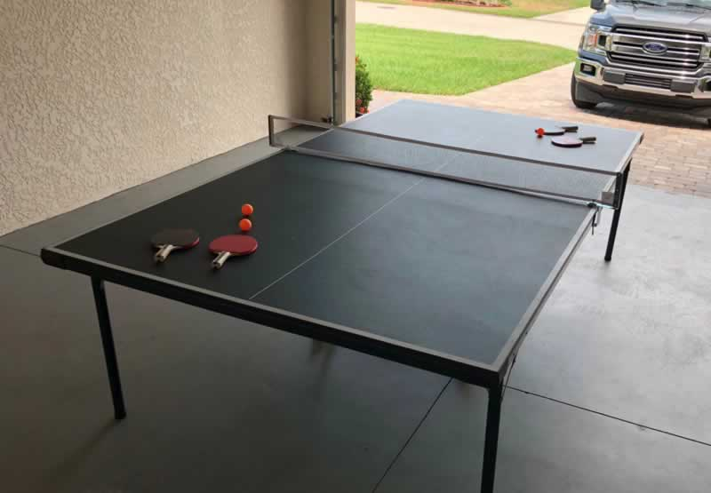 How to Fix a Damaged Ping Pong Table Top