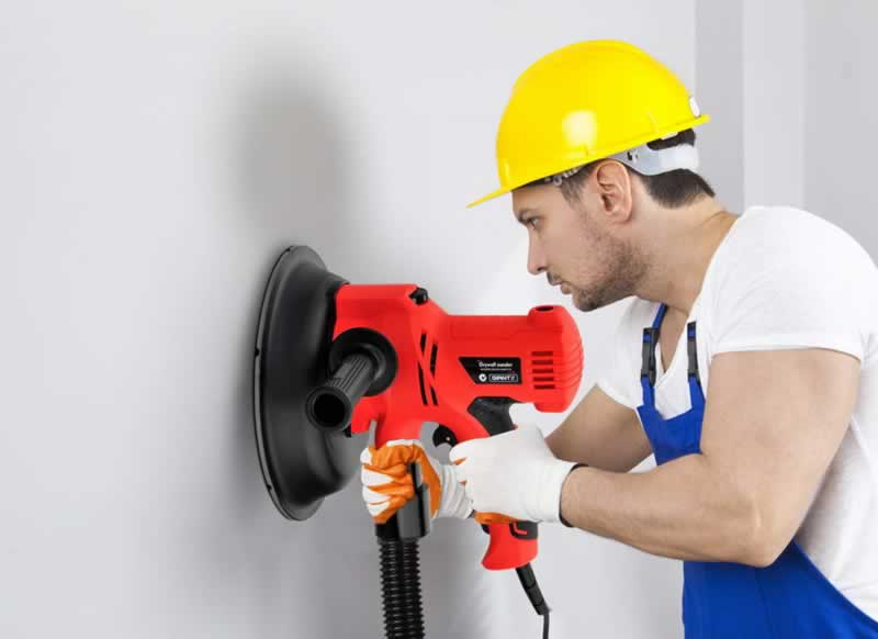 How to Limit Exposure to Drywall Dust When Sanding - dust free sander