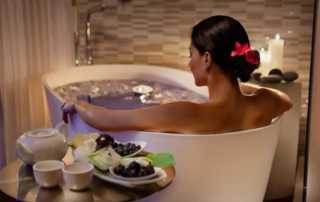 Making Your Bathroom A Place for Relaxation - women relaxing