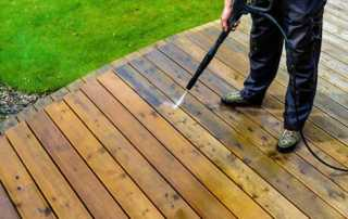 Spring Maintenance Tips for Your Deck - washing