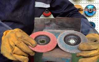 When to Use a Flap Disc - different types of flap discs