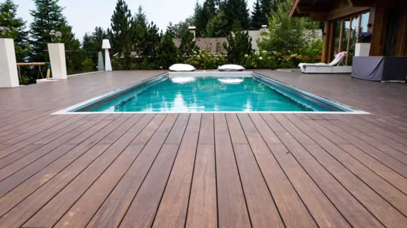 5 Uses for Composite Decking - pool deck