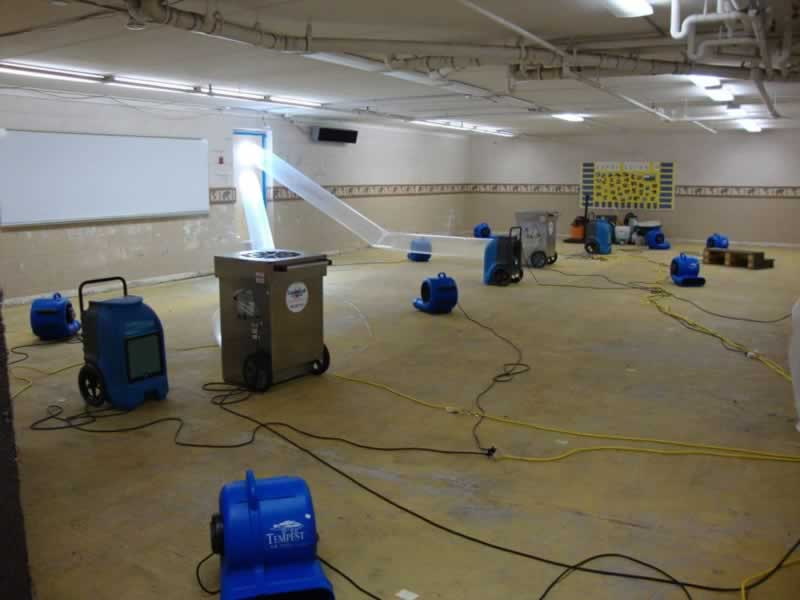 Commercial Water Damage Restoration and How to Deal With Them - dryers