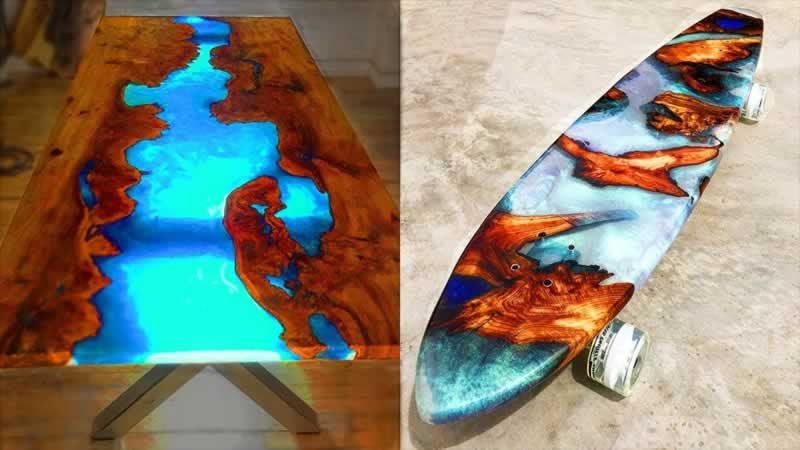DIY projects with epoxy resin