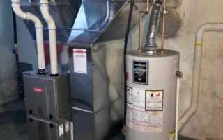 Natural gas energy - gas furnace