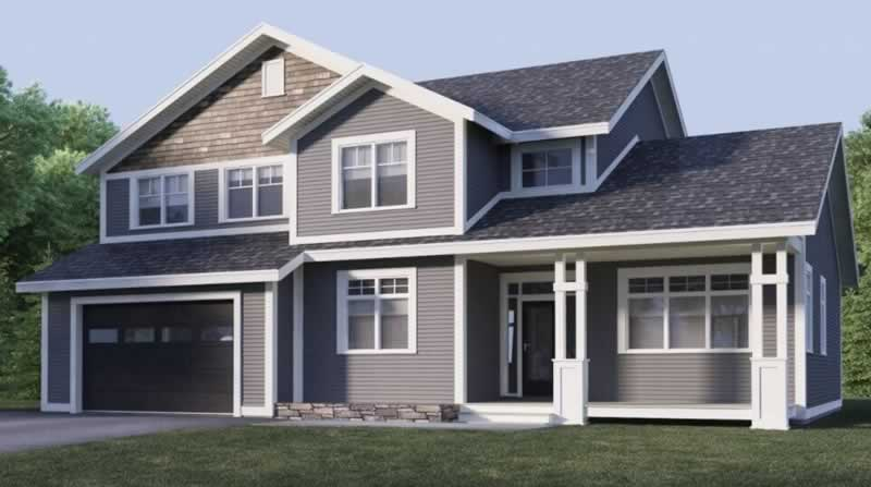 Top Exterior House Color Schemes - taupe