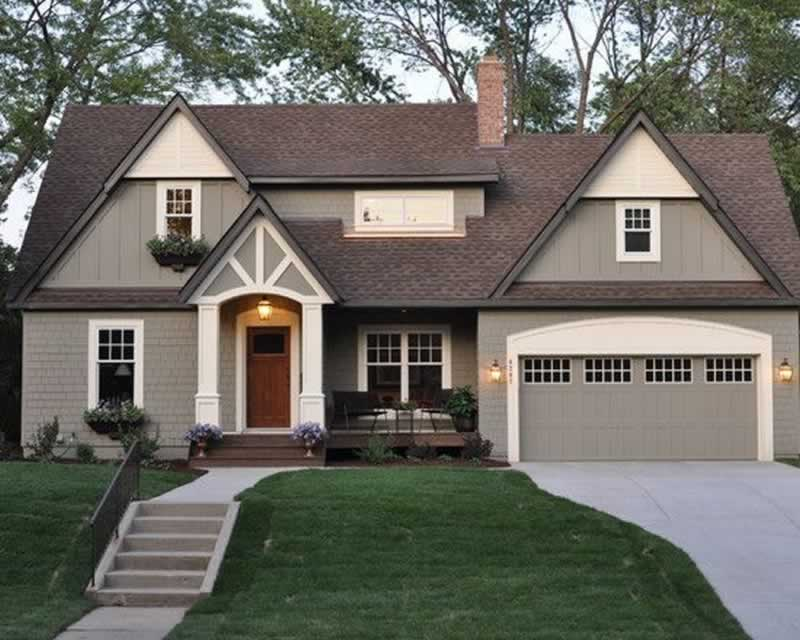 Top Exterior House Color Schemes