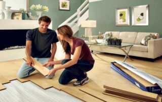 4 Easy Do-It-Yourself Home Improvements - DIY flooring