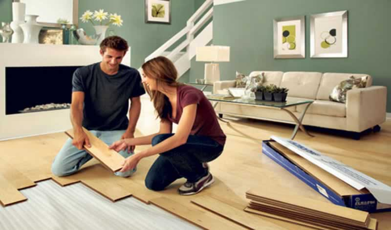 4 Easy Do-It-Yourself Home Improvements - DIY flooring