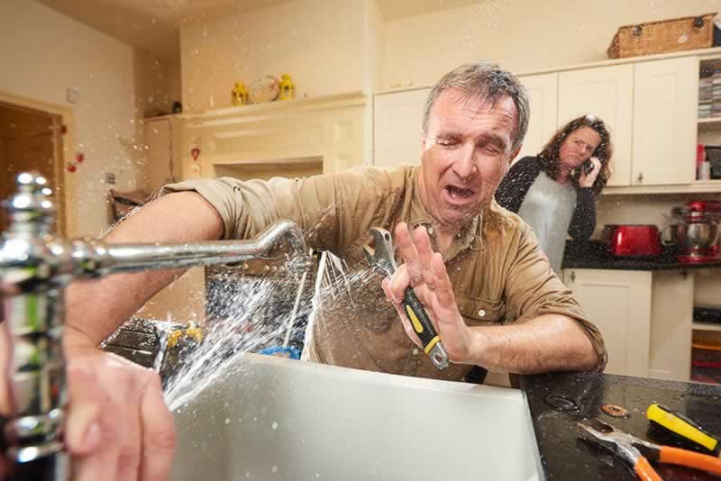 4 Home Repairs You Should Never Do Yourself  - plumbing