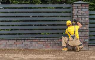 4 Simple Ways To Build Your Own Fence - iron fence