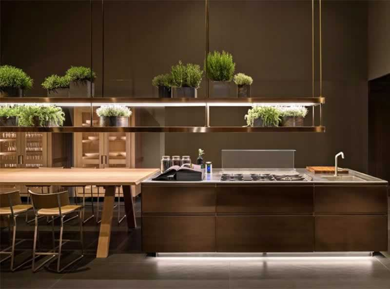 5 Awesome Kitchen Design Trends for Summer 2020 - hanging plants