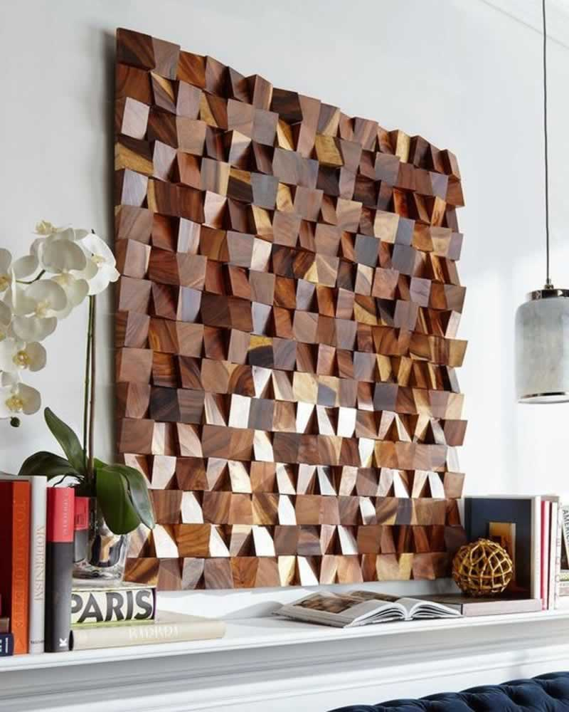 5 DIY Wooden Artwork For Home Design