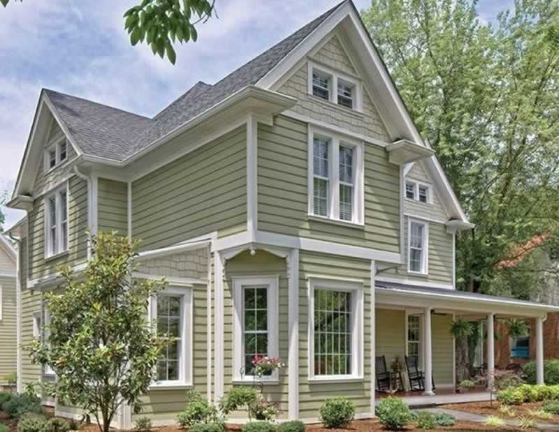 Benefits of Exterior Wall Panelling - rustic house