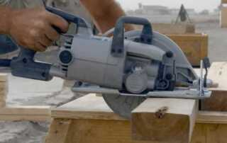Choosing the Right Power Saw for the Job - worm drive saw