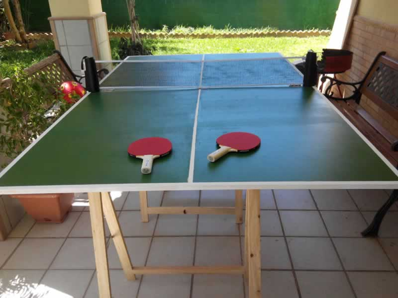 How are Ping Pong Tables made - DIY ping pong table
