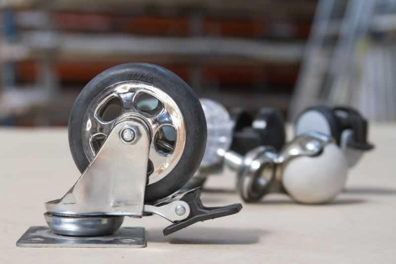 How to Move Objects With Heavy Duty Caster Wheels