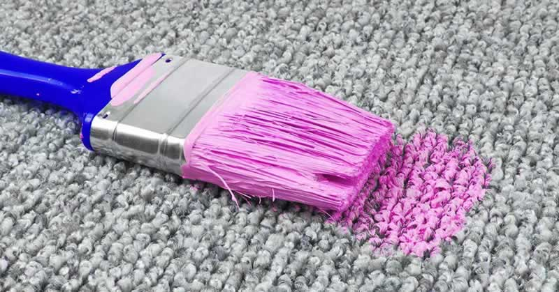 How to Remove Dry Latex Paint - brush