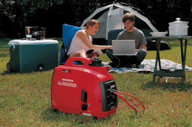 How to generate power outdoors using inverter generators - camping