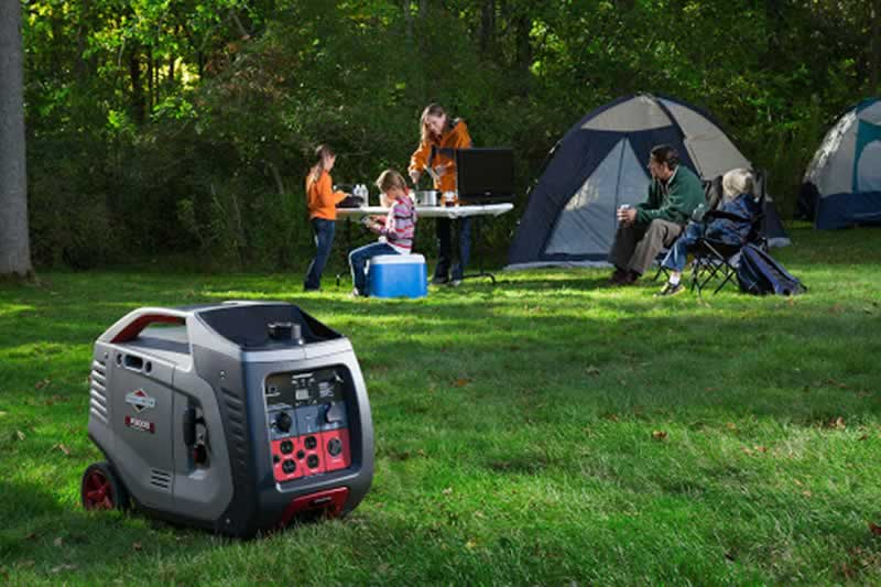 How to generate power outdoors using inverter generators