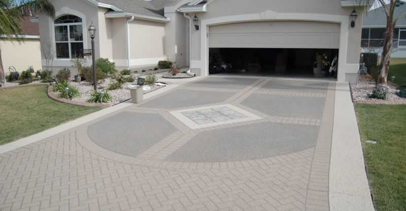 Popular Concrete Driveway Finishes