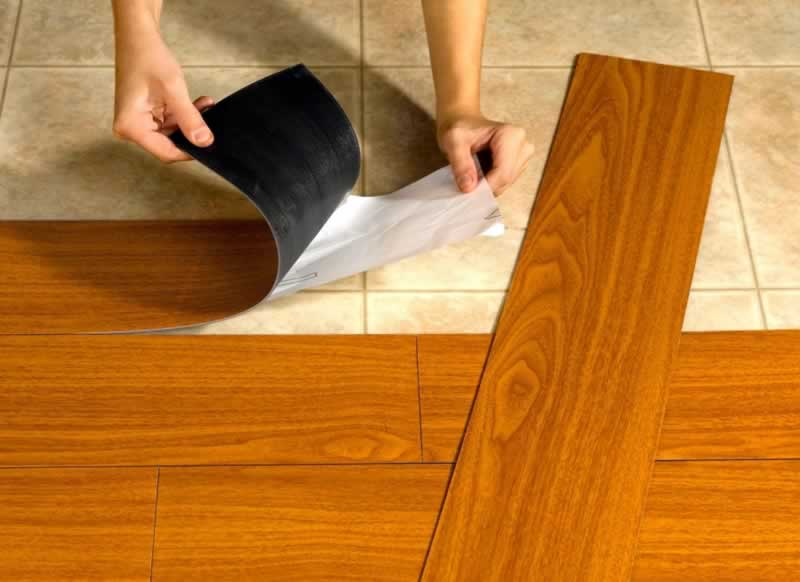 Replacing Outdated Flooring Can Help it Sell Faster - RV floor