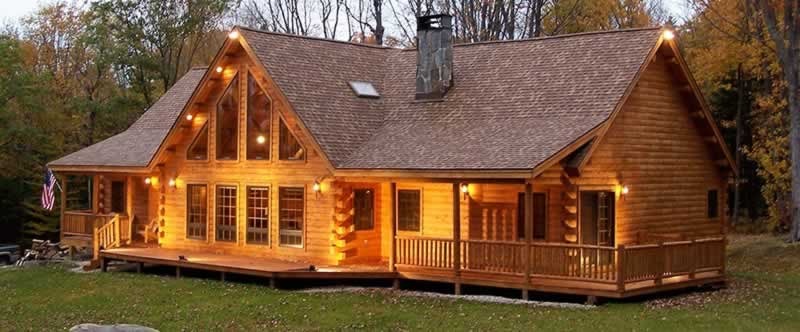 The Benefits Of Log Home Kits And Log Home Plans