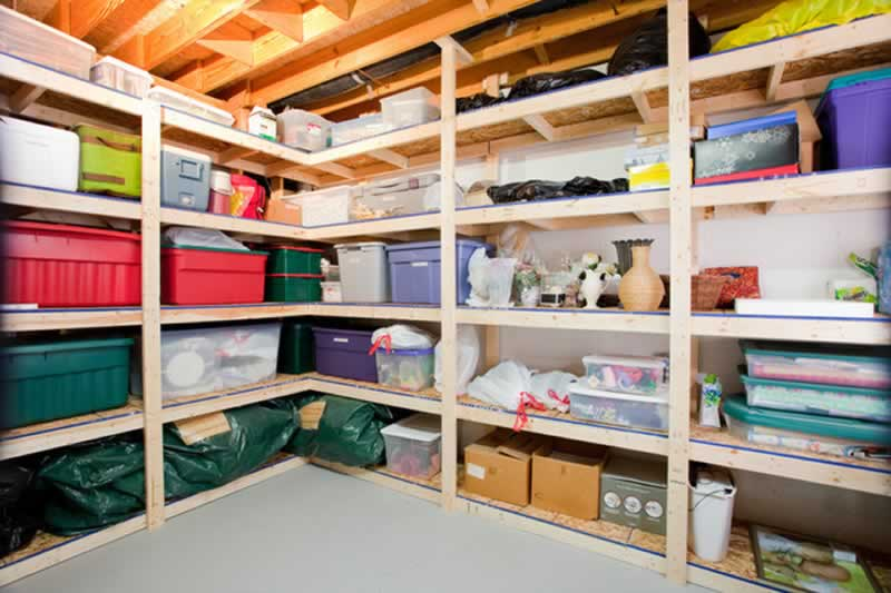 Tips for Refreshing Your Home's Basement this Summer - storage