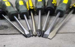 Tools You'll Find Yourself Using Every Day - screwdrivers