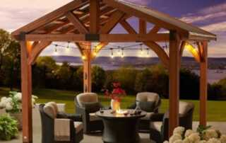 8 ideas to leave the appearance of a movie yard - pergola