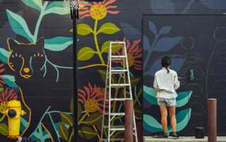Four Wall Painting Ideas You Will Want to Add to Your Newly Renovated Home - mural