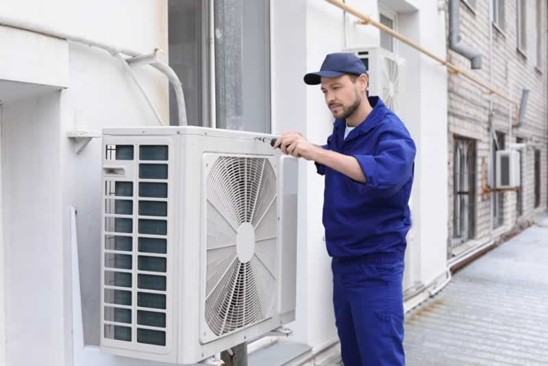 How Much Does Air Conditioning Installation Cost - outdoor unit