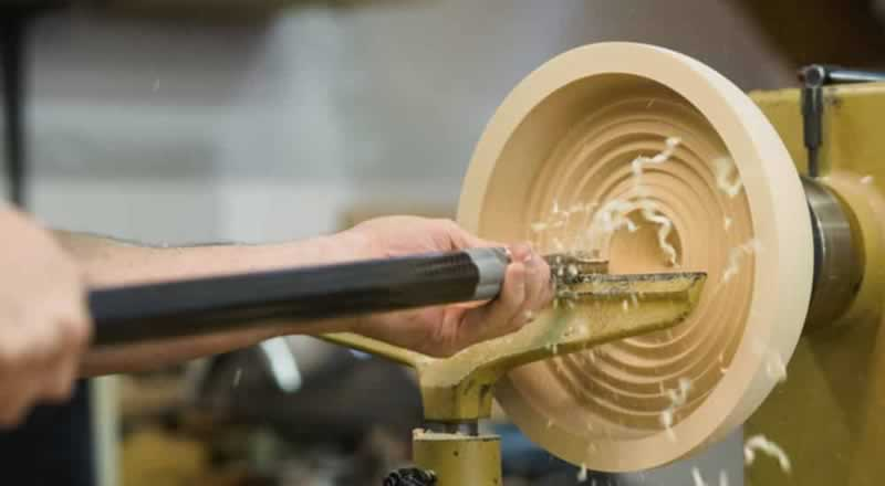How To Turn A Bowl On A Lathe - interior