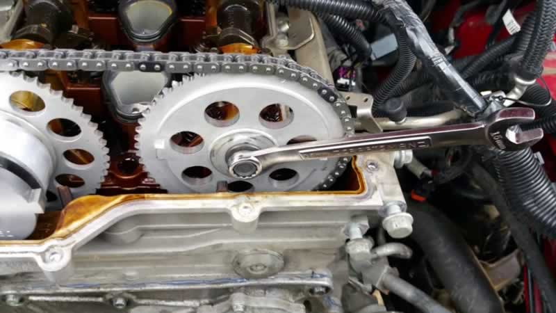 Timing Chain Replacement Costs - replacement