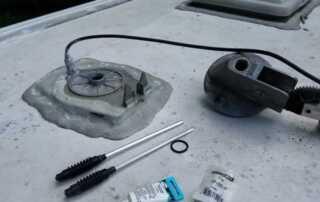 Why is my TV Aerial Leaking Water - repair
