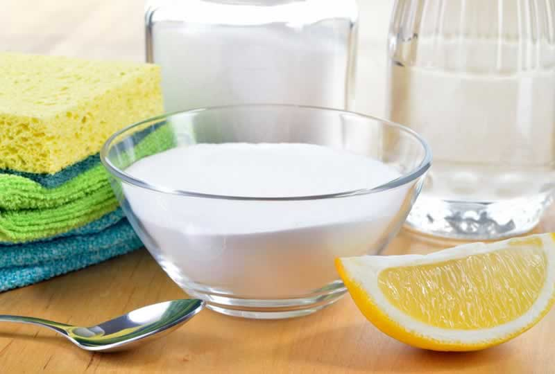 5 Non-Toxic Ways to Remove Mold From Everything - baking soda and lemon