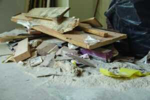 Be aware of these hazards when you're remodeling your home - rubble